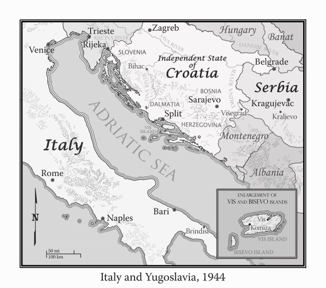 Italy and Yugoslavia, 1944, web version