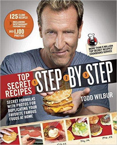 Book Review Top Secret Recipes Step By Step Al Sowards