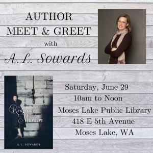 Author Chat Moses Lake Public Library